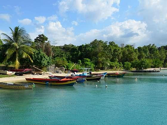 Pláž Jamese Bonda na Jamajce