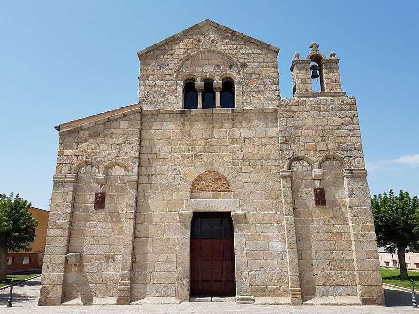 Bazilika San Simplicio v Olbii na Sardínii