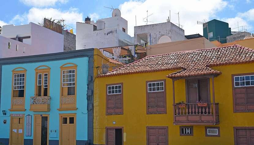 Čtvrť Charco v Tazacorte je plná historických budov.