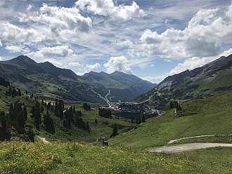 Rakouské lyžařské středisko Obertauern v létě