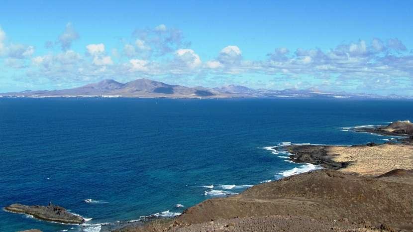 výhled na Lanzarote