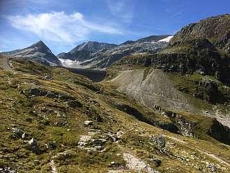 Hráz přehrady Weisssee