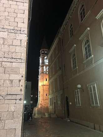 Věž kostela svatého Donáta