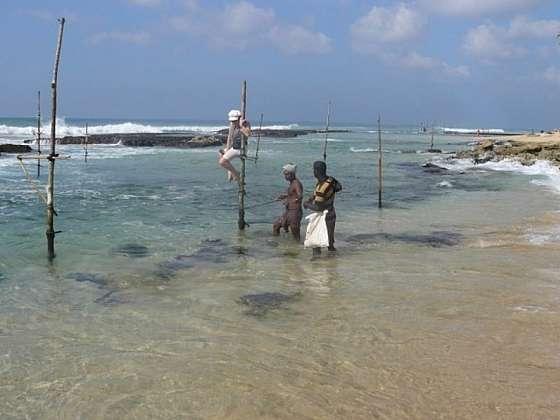 Nebudete se stačit divit - Výuka rybolovu na Cejlonu