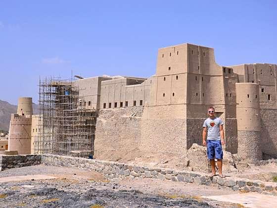 Před pevností v Bahle.
