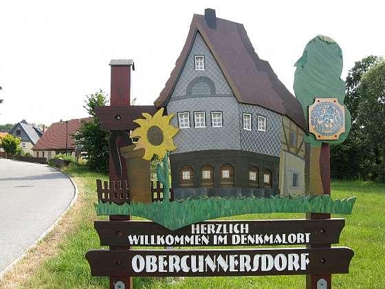 Vítá vás obec Obercunnersdorf!