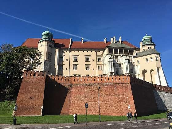 Polský Krakov, královský zámek Wawel a starý židovský hřbitov