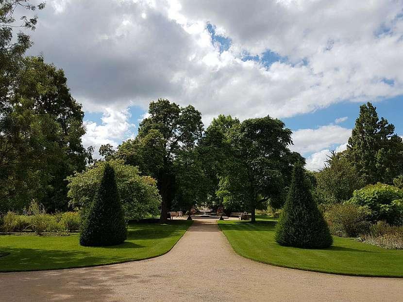 Oxfordská botanická zahrada