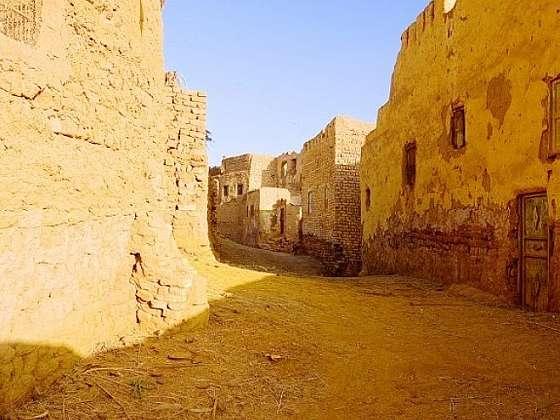 Oázy Faráfra a Dachla