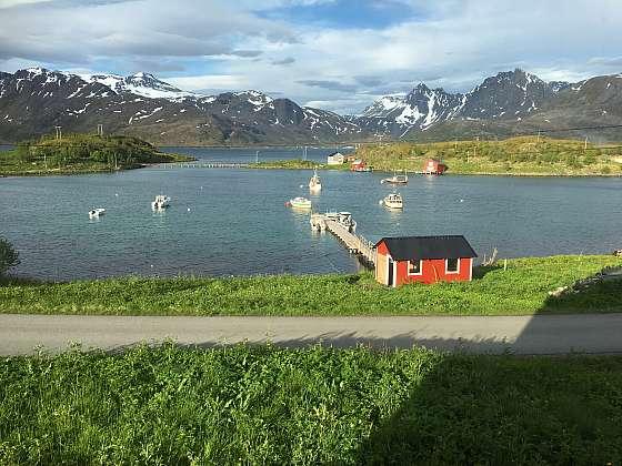 Bergsfjord - filetárna