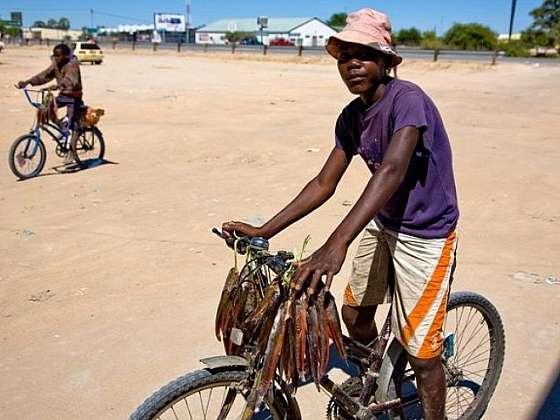 Menej známa oblasť Ovamboland