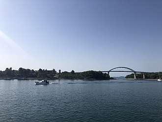 Most mezi Pašmanem a Ugljanem