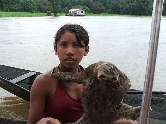 Manaus - hlavní město brazilského státu Amazonia
