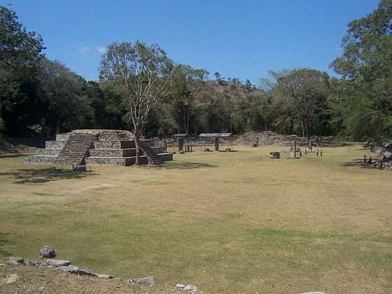Mayské město Copán
