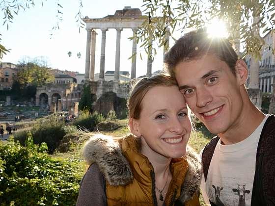 Na otočku v Římě