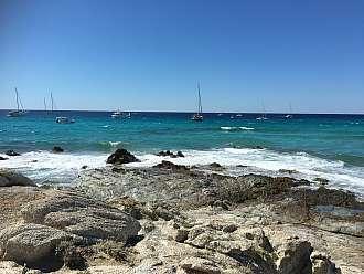 Nejkrásnější pláže Korsiky Plage de Lotu a Plage de Salecia