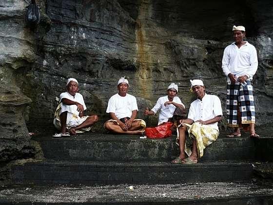 Mořský chrám Tanah Lot