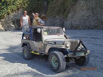 vylet z Angeles na sopku Pinatubo