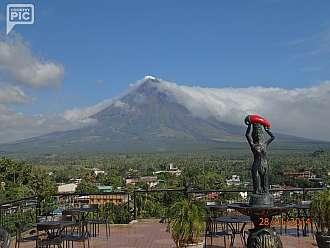 kraj chili papricek-Legazpi a sopka Mayon
