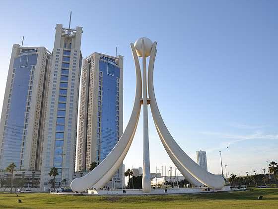 Perlový pomník v Bahrajnu 2011