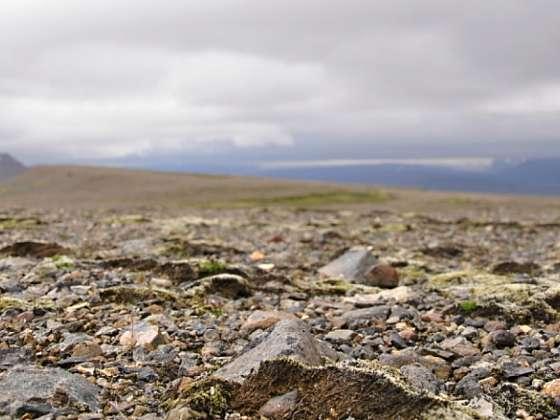 Islandské vnitrozemí, pohoří Kerlingarfjöll