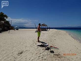 White beach na Moalboal,Cebu