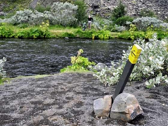 Trek k vodopádu Dettifoss