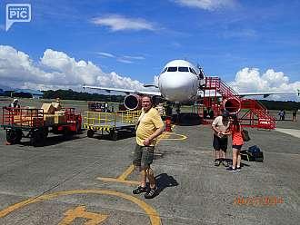hned sme z manily odletely do Puerto Princessa