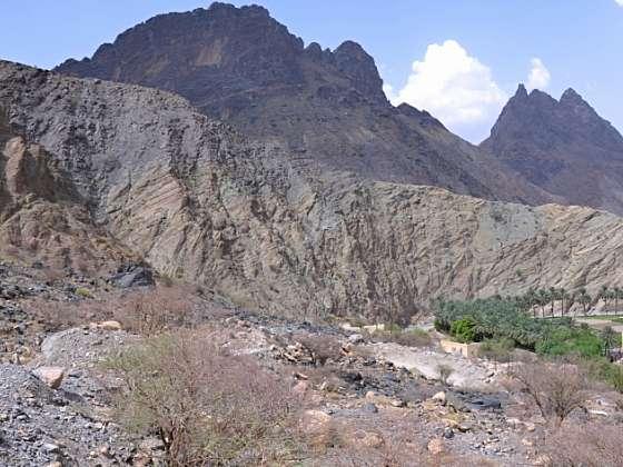 Výprava do hadího kaňonu وادي بني عوف