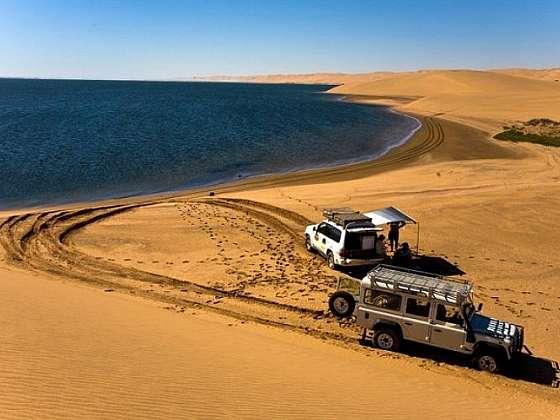 Adrenalinová jazda v púšti Namib