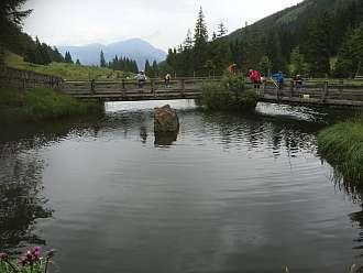 Rodinný výlet za rybařením v údolí Sölktal