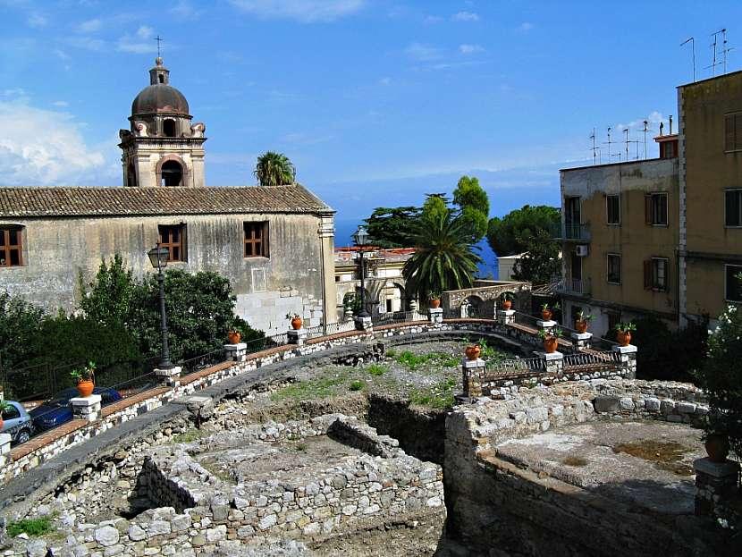 Výlet do Taorminy a na Etnu