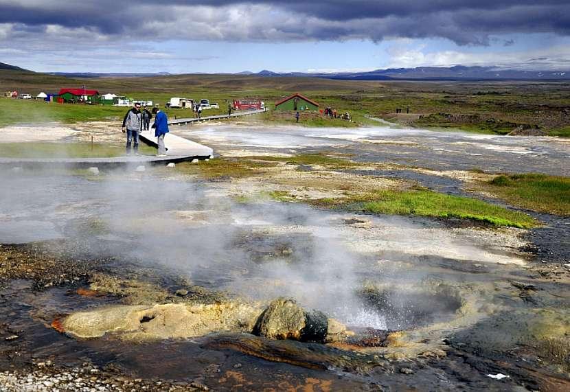 Geotermální oblasti Islandu, Hveravellir
