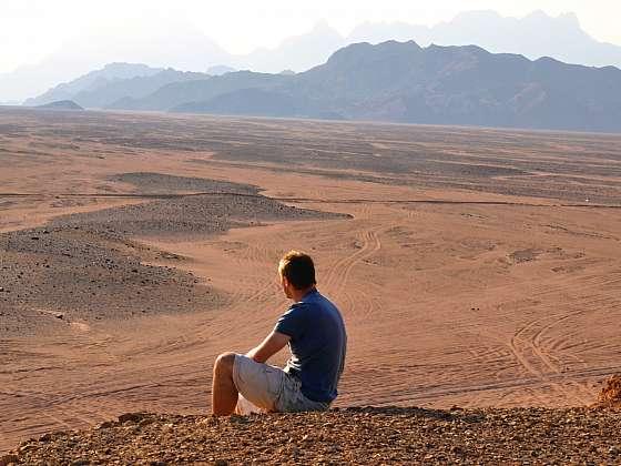 Výlet za pouštními beduíny