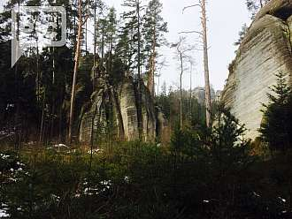 Jarní Adršpach