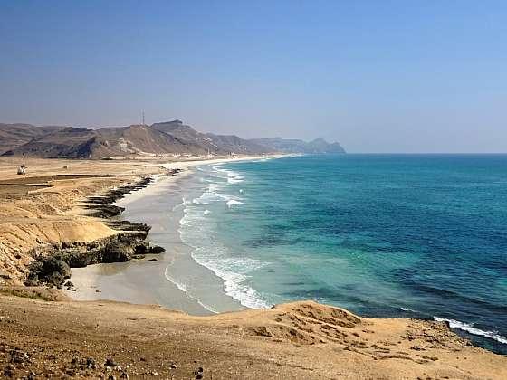 Sultanát Omán - Mughsail pláž
