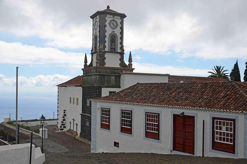 Kostel Iglesia Parroquial de San Blas na La Palmě.