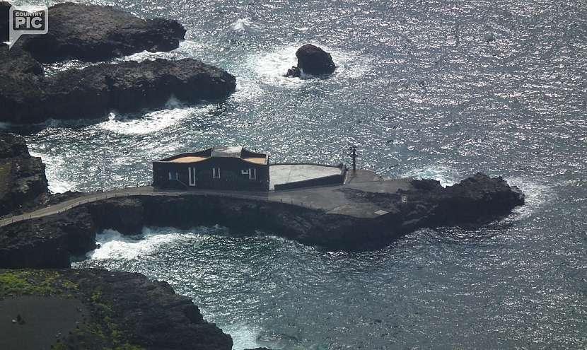 Hotel Punta Grande se pyšní titulem nejmenšího hotelu světa.